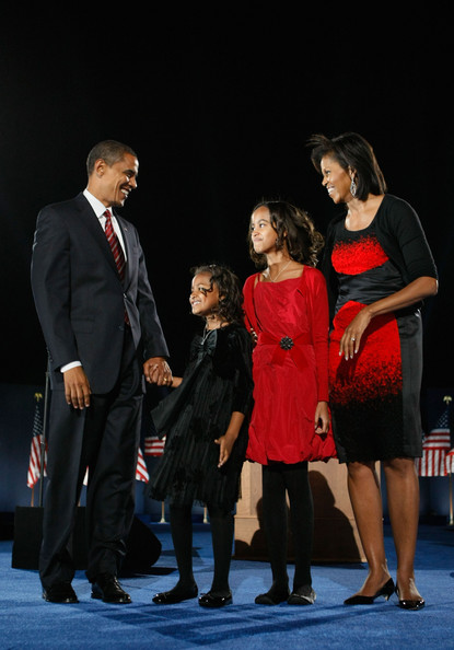President-Elect Barack Obama and The First Family