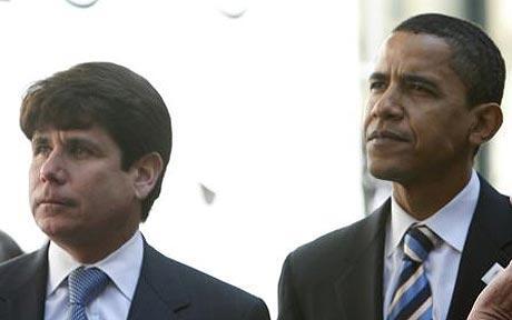 Governor Blagojevich and President-Elect Barack Obama