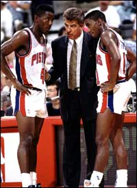 Chuck Daly and The Bad Boys