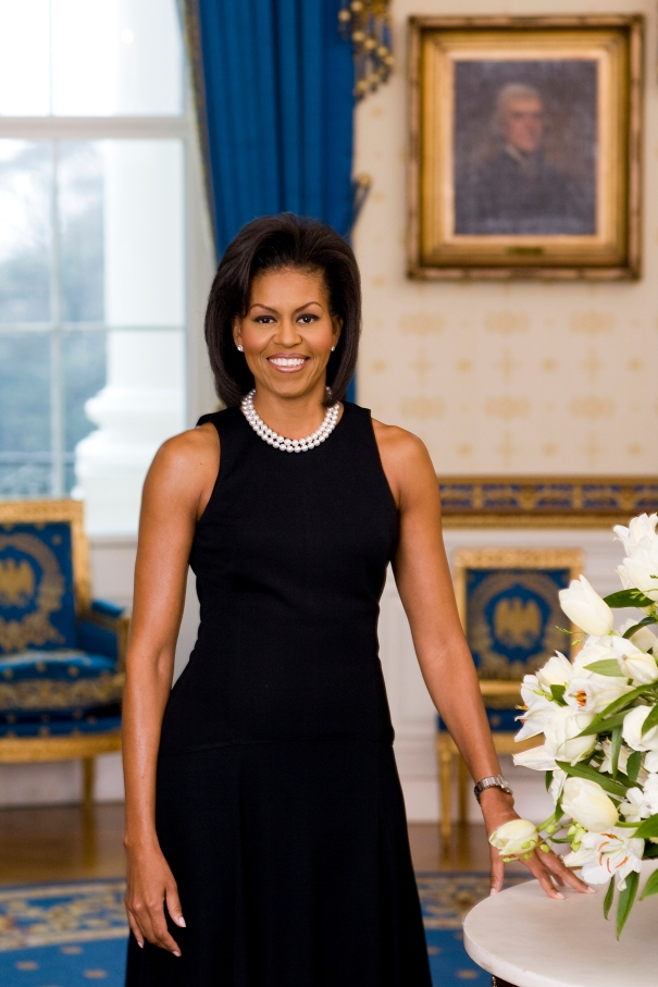 The Official Portrait Of First Lady Michelle Obama
