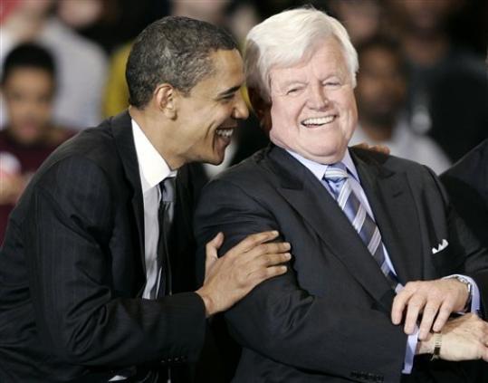 obama and keenedy