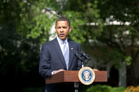 President Obama On South Lawn Wednesday