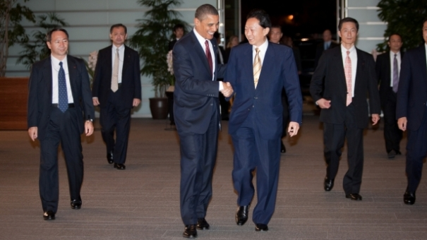 obama in japan with yukio hatoyama1