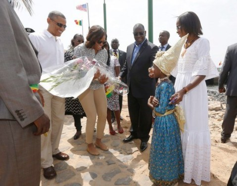 In Case You Missed It: President Barack Obama and First Lady Michelle Obama Arrive In Senegal