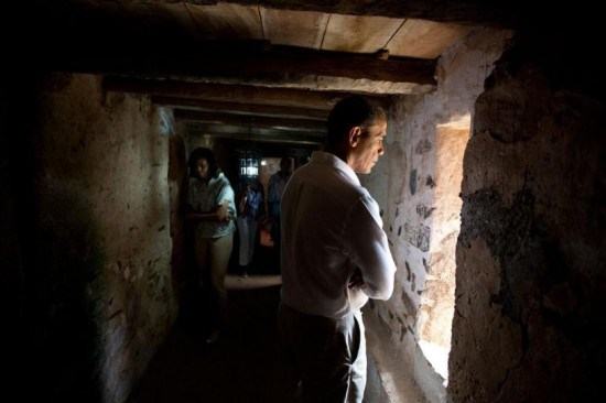 In Case You Missed It: President Obama And First Family Visits Maison des Enclaves