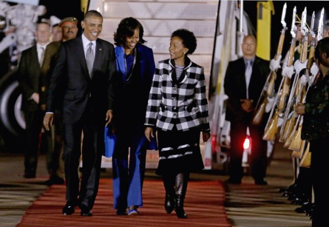 In Case You Missed It: President Barack Obama And The First Family In South Africa