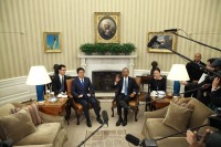 Barack+Obama+Obama+Holds+Bilateral+Meeting+iMEU_r2M7Ipl